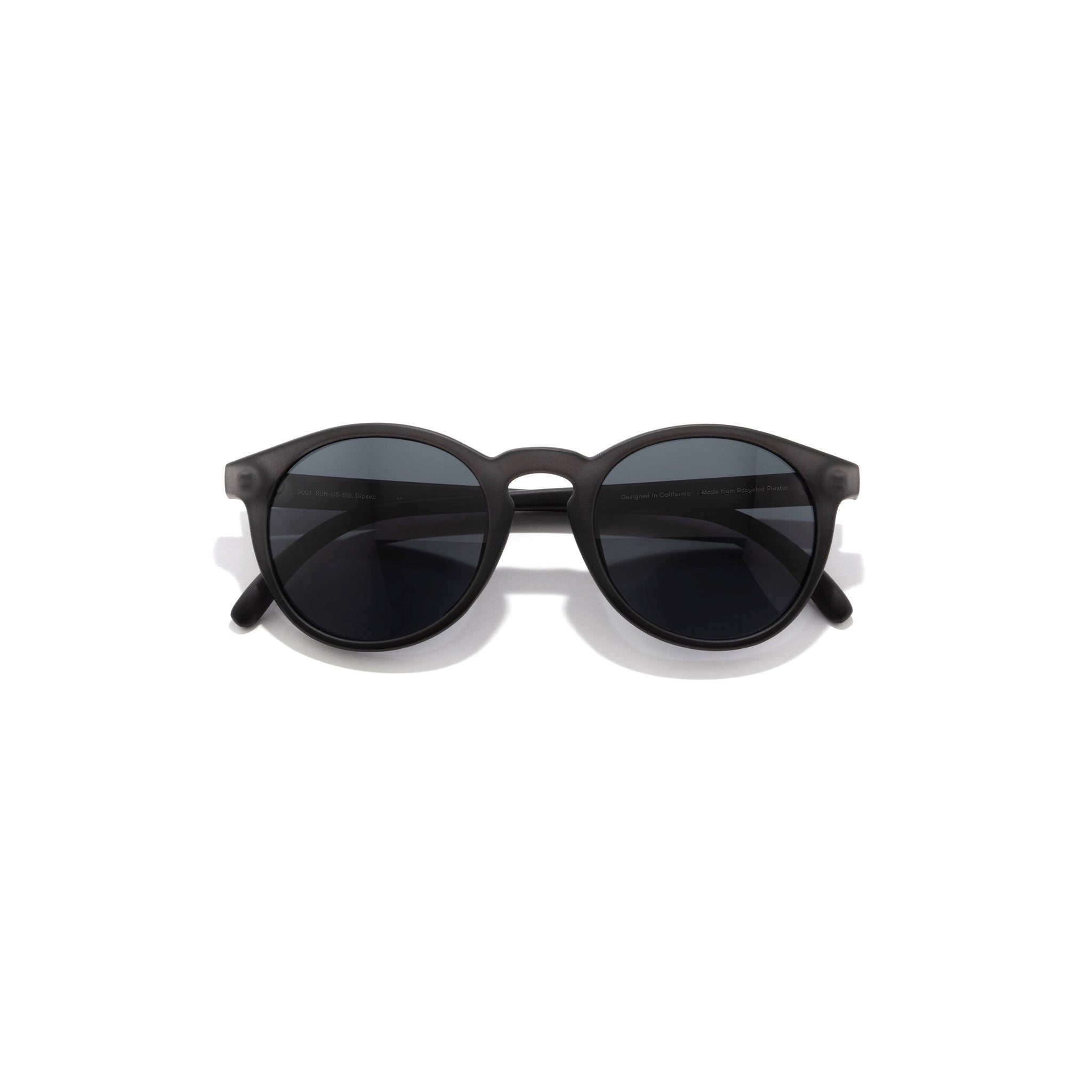 Sunski Dipsea Polarised Sunglasses - Black / Slate