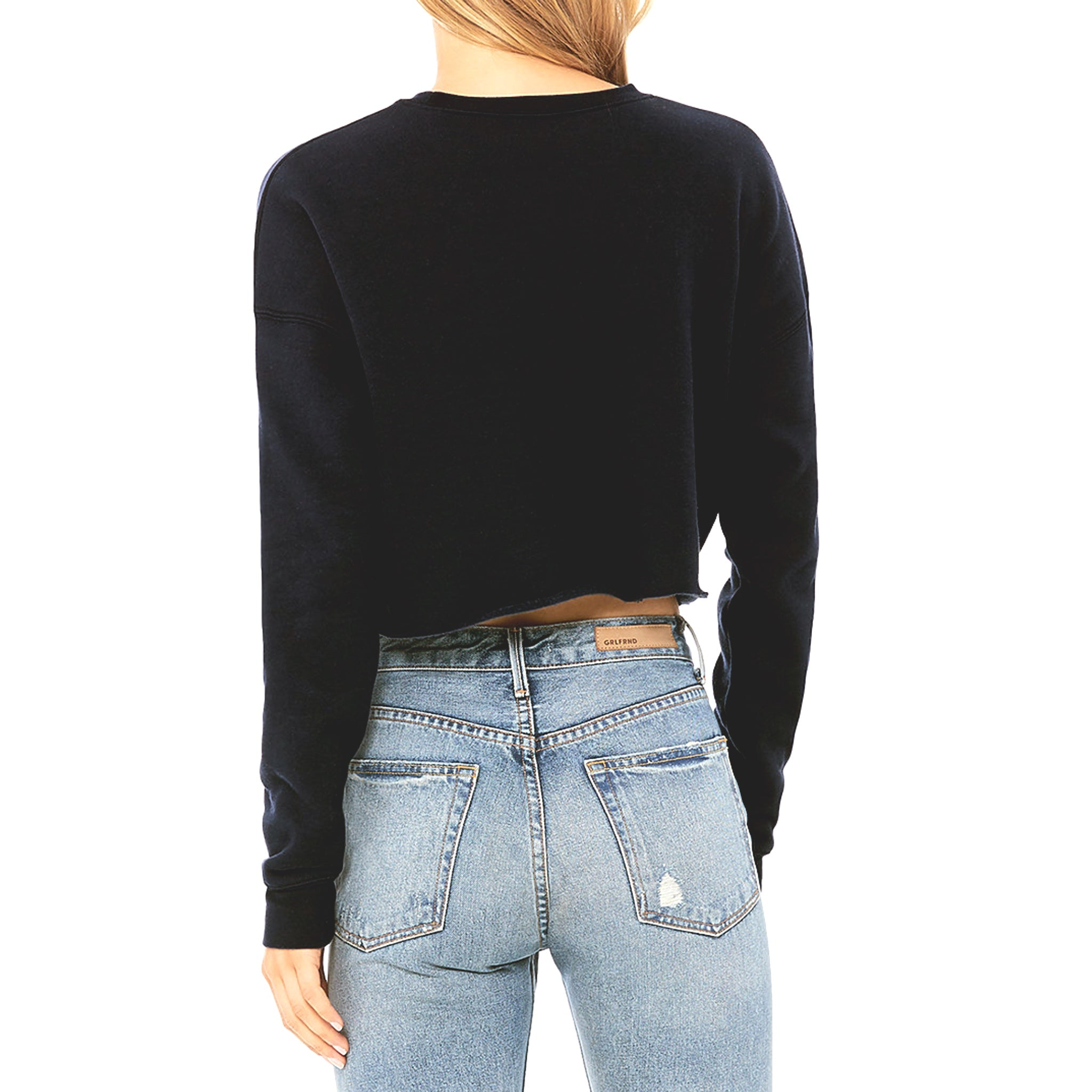 Women's Hoy Classics Crop Sweater - Midnight