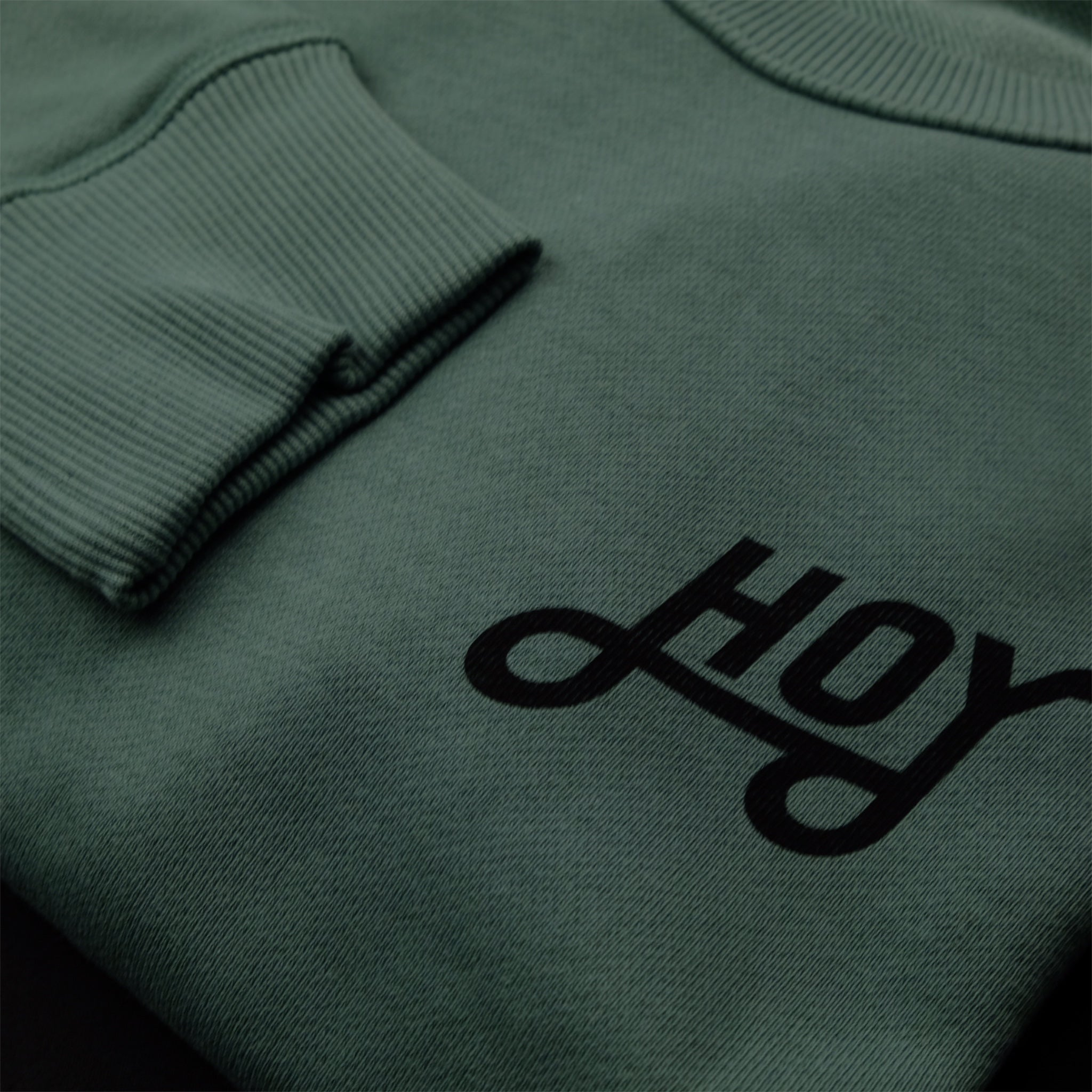 Hoy Classics Crew Neck Sweater - Fresh Bamboo