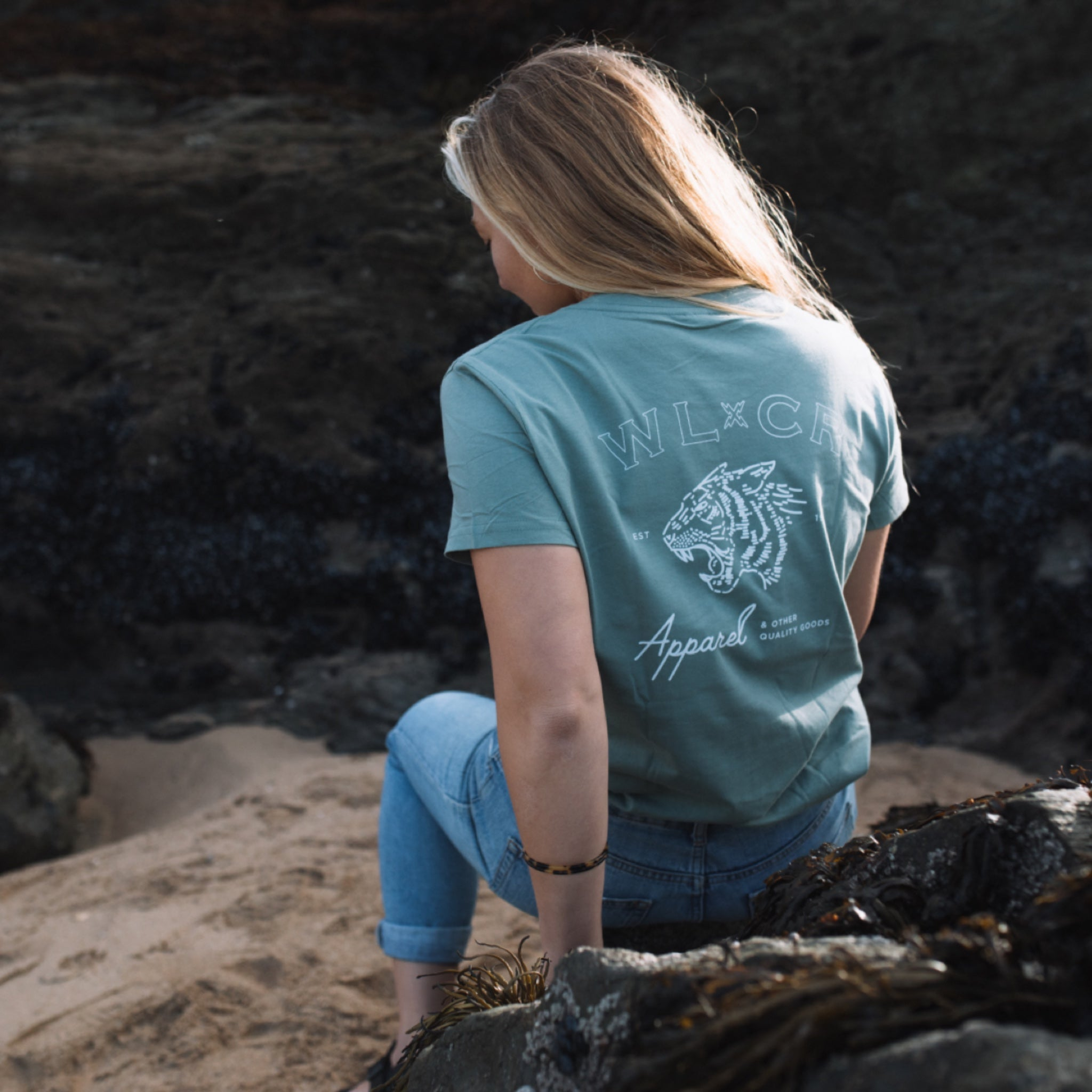 Women's Easy Tiger T-shirt - Sage