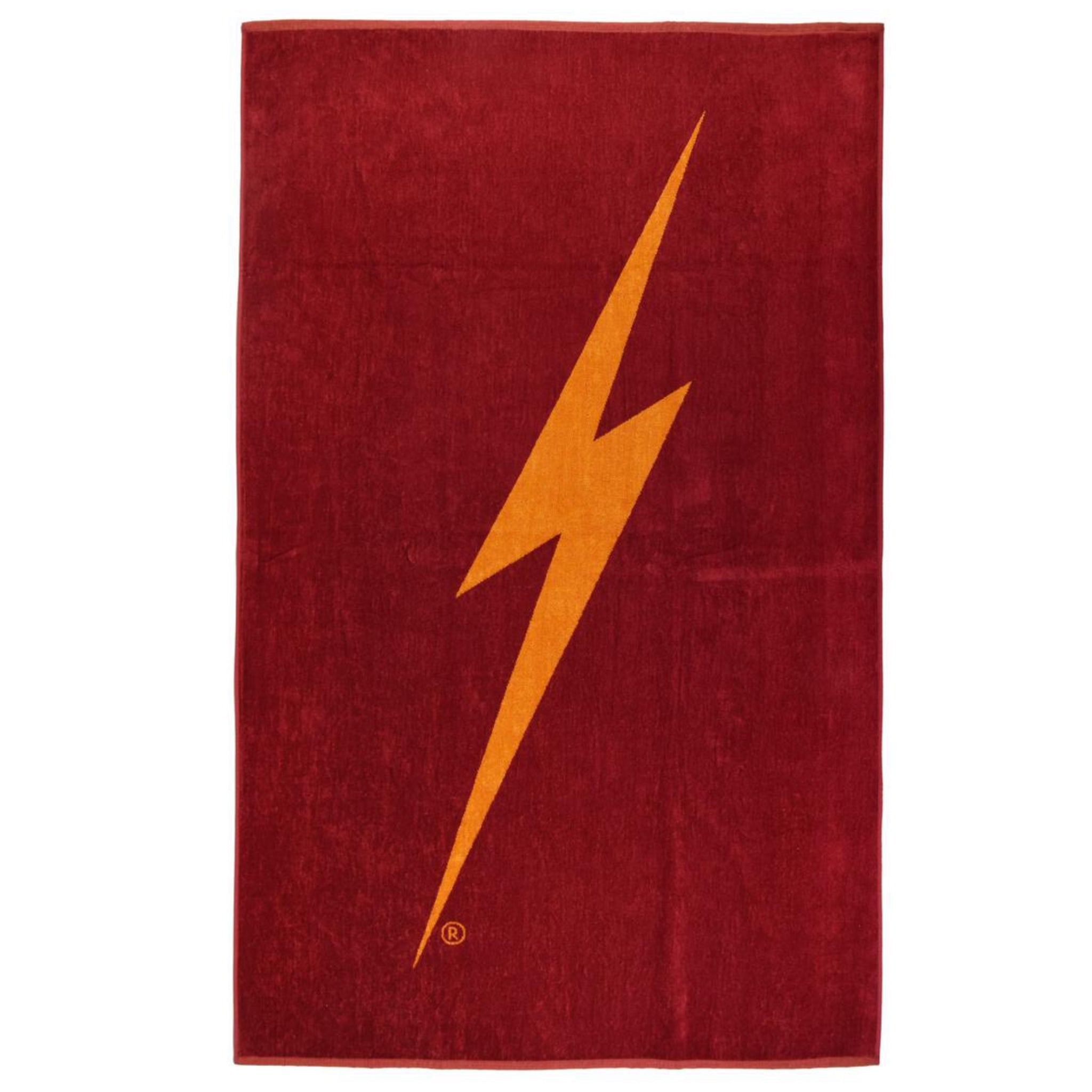 Lightning Bolt Forever Towel - Ruby Wine
