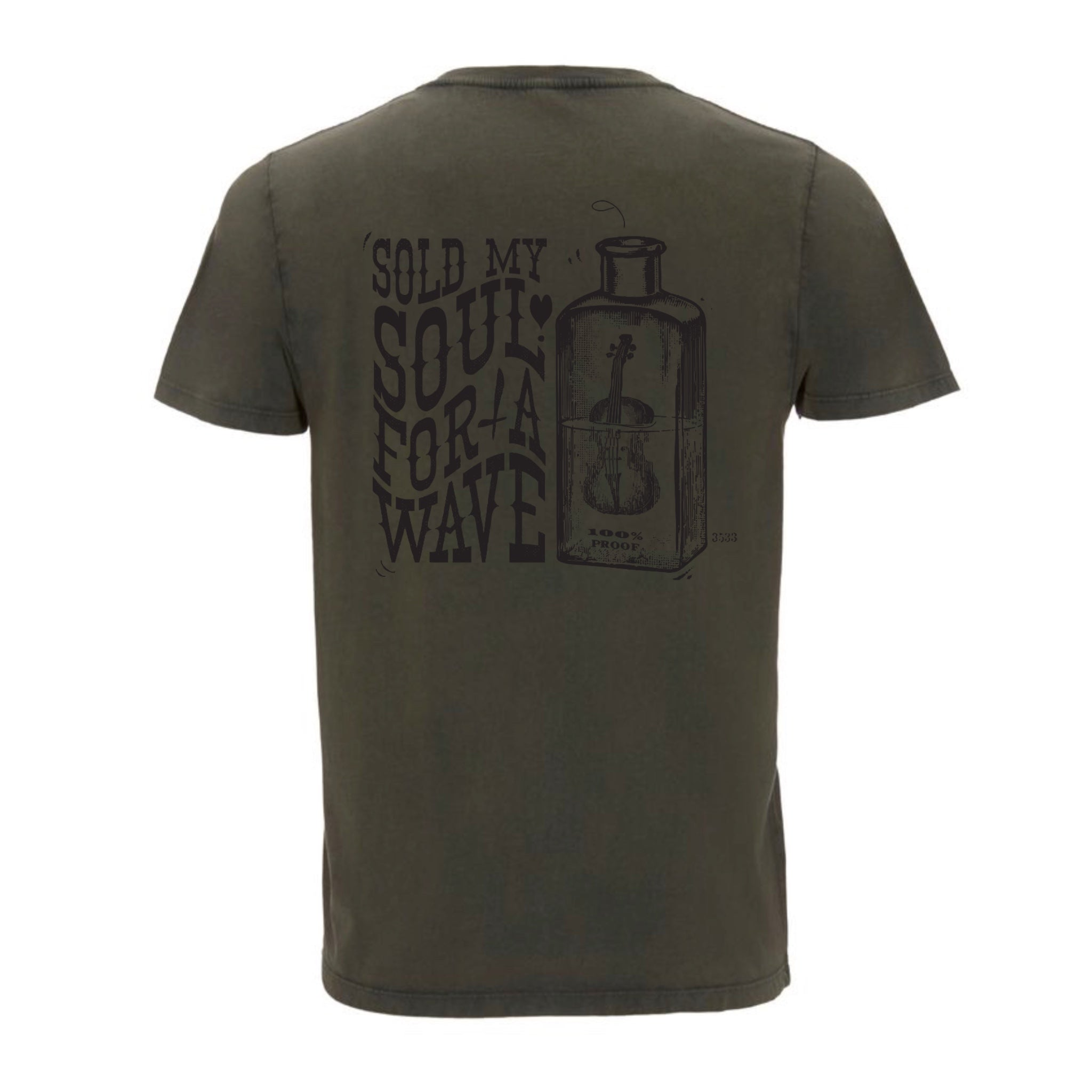 Hoy Sold my Soul Organic T-shirt - Dusty Green