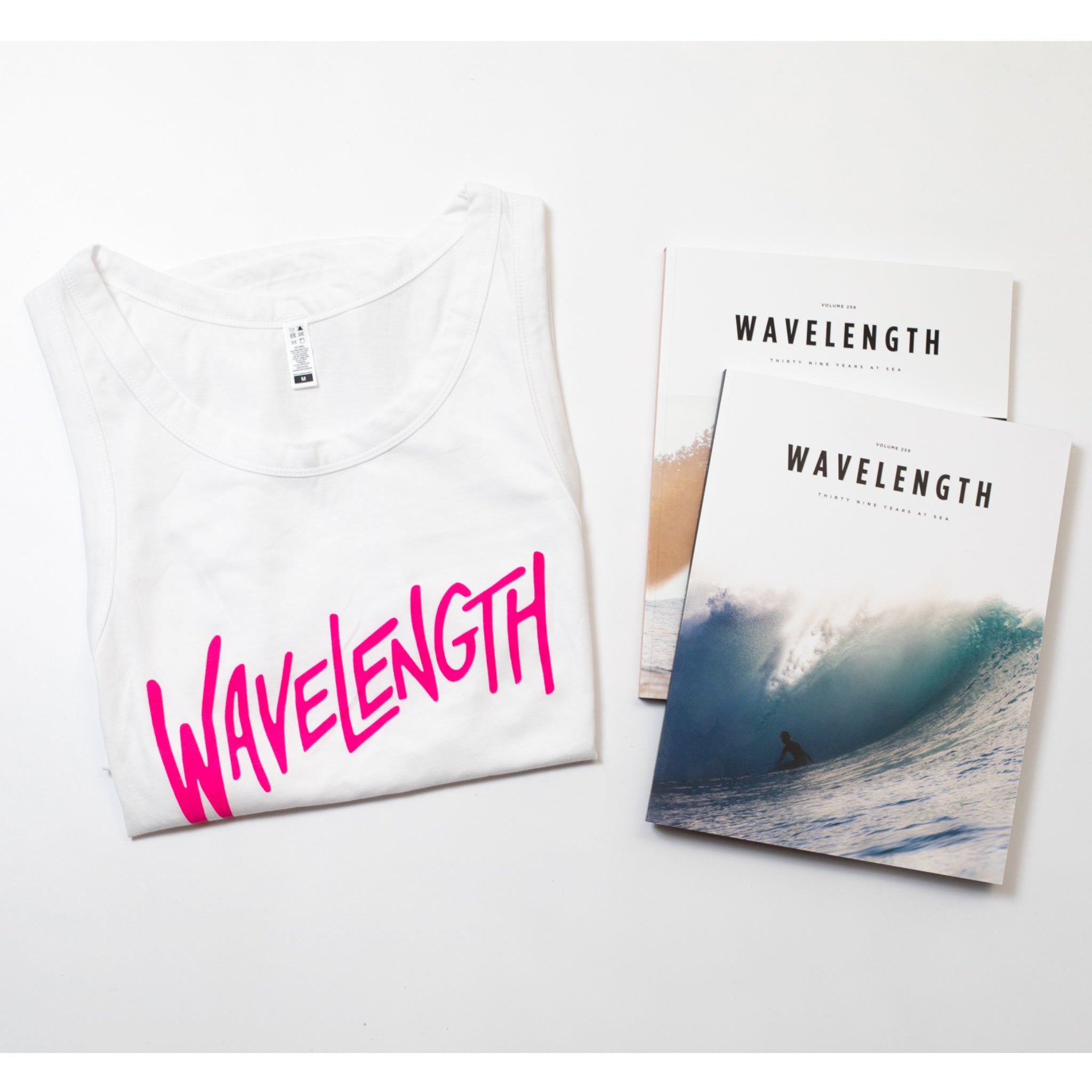 Magazines & Women's Tank Gift Set