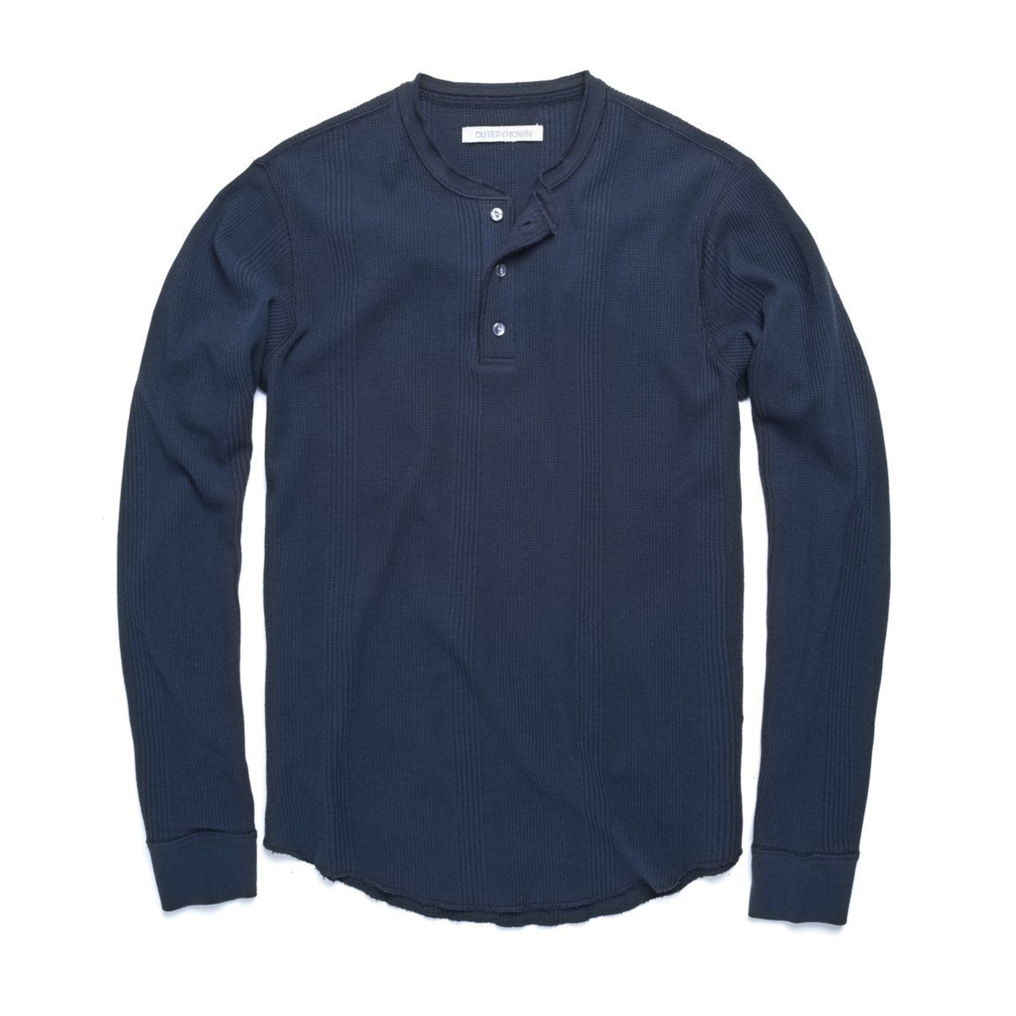 Outerknown Arroyo Thermal Henley - Marine