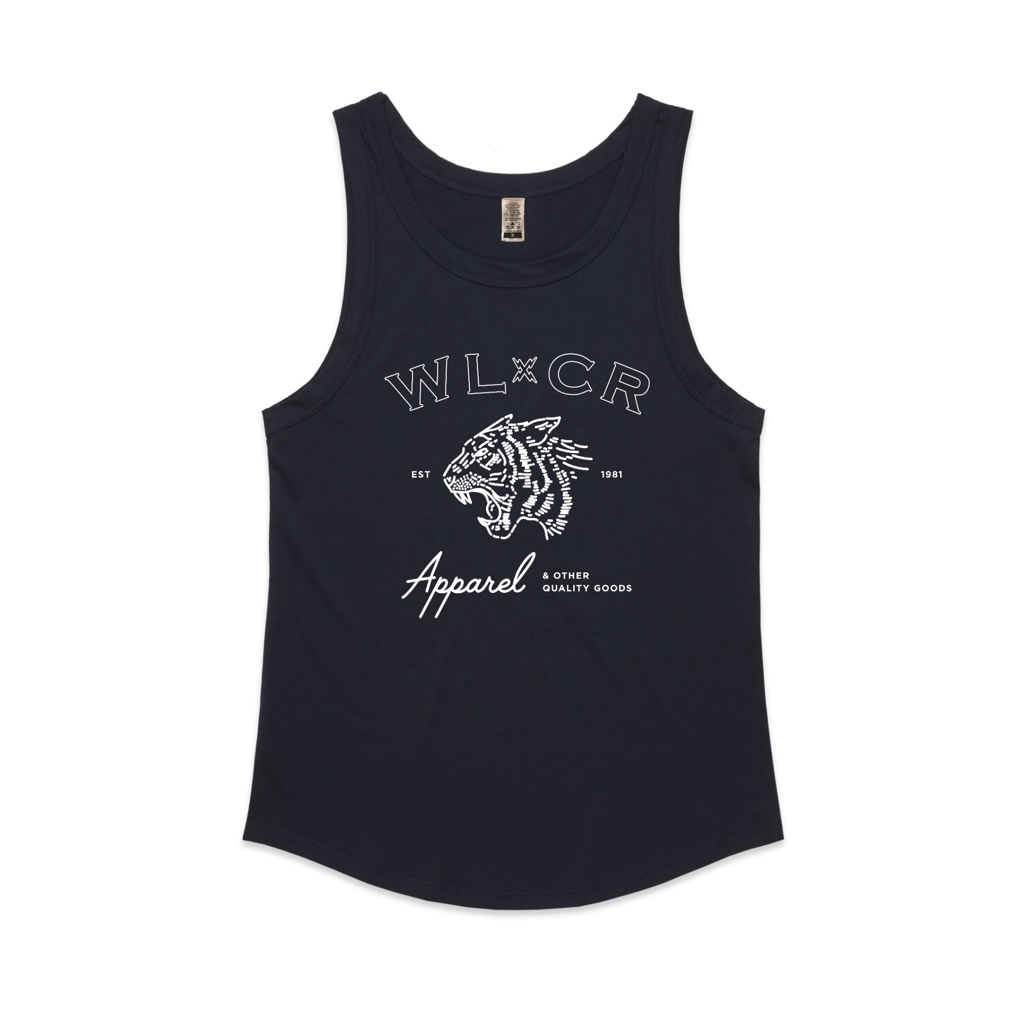 Women's WLCR Easy Tiger Vest - Navy