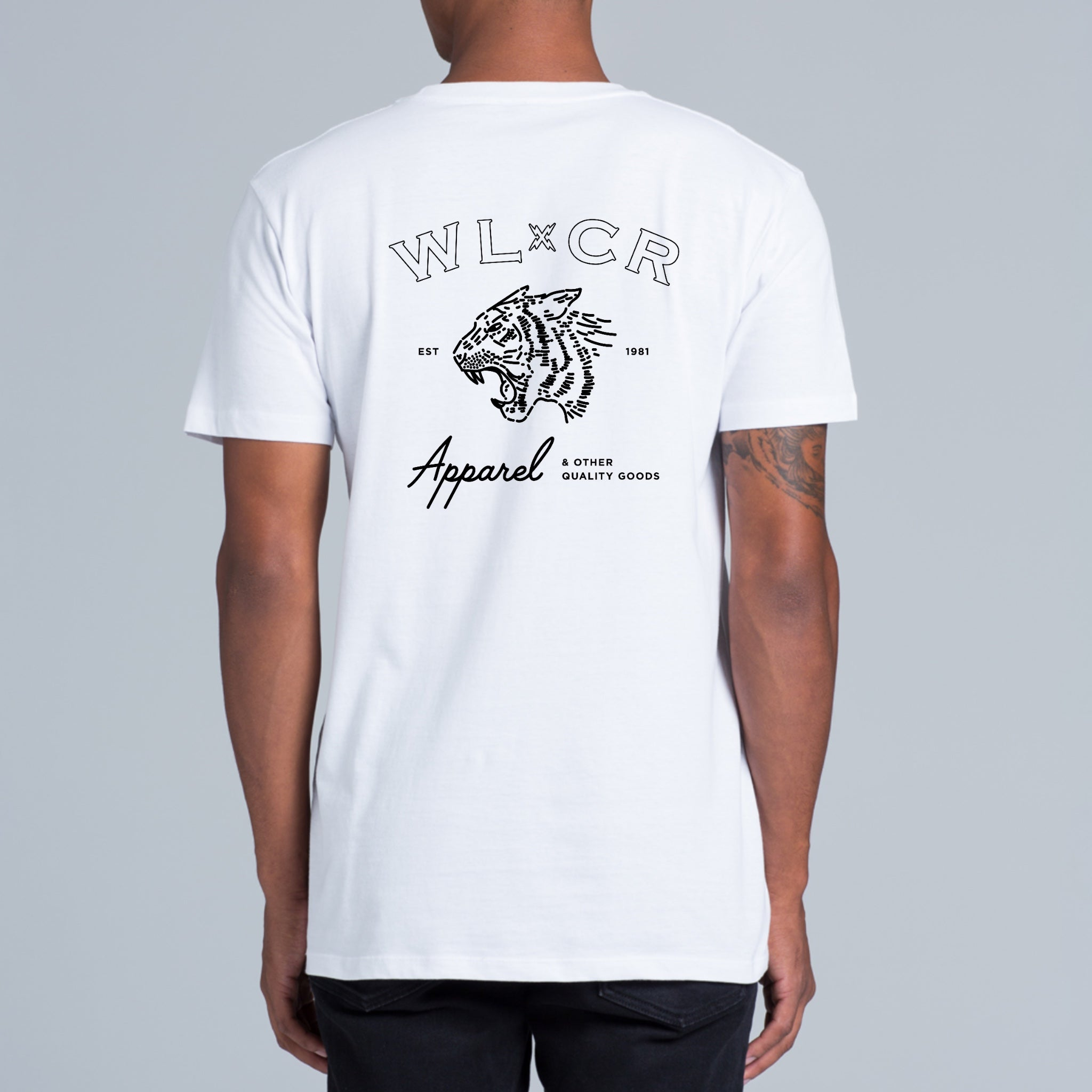WLCR Easy Tiger T-Shirt - White