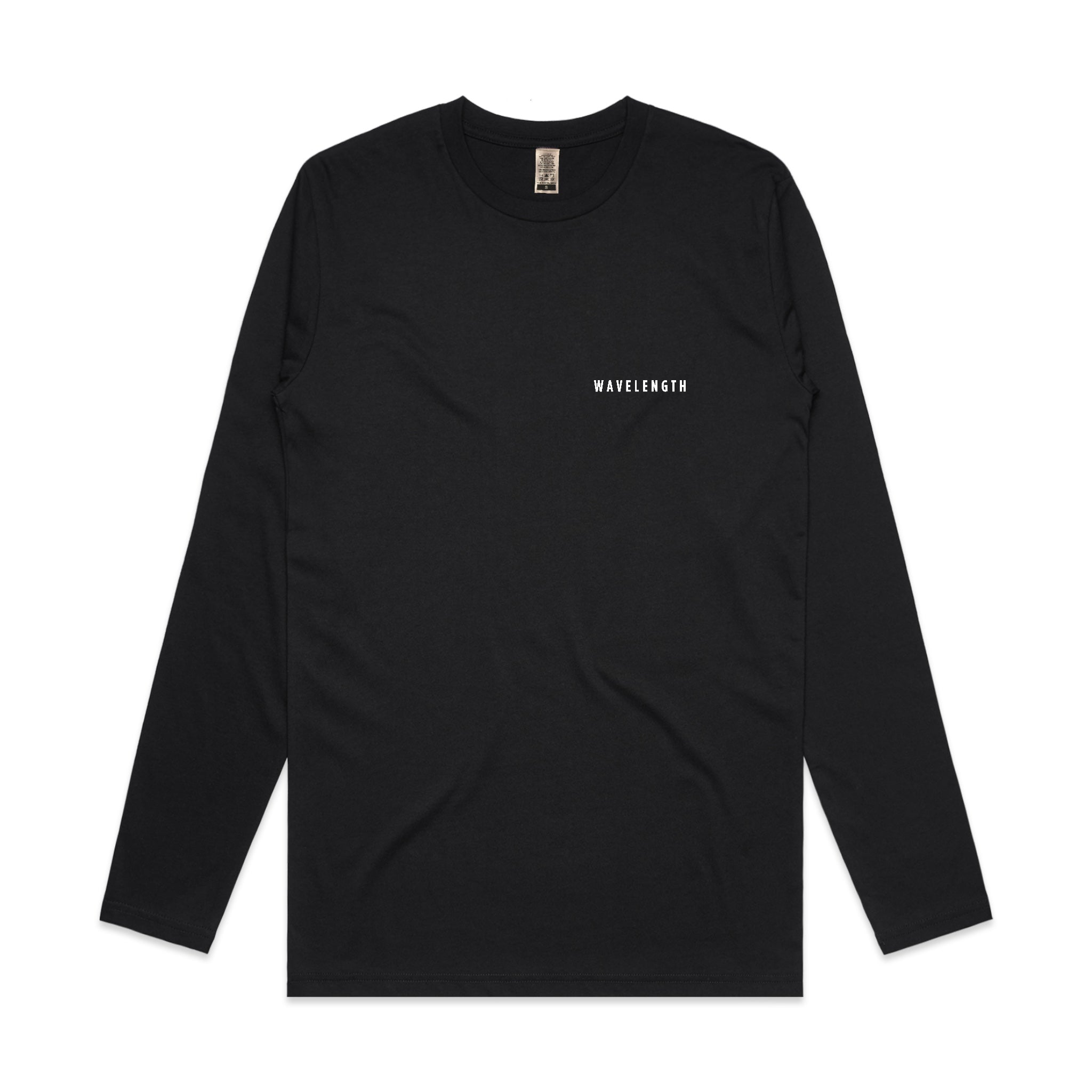 Wavelength X WLCR Logo L/S T-Shirt - Black