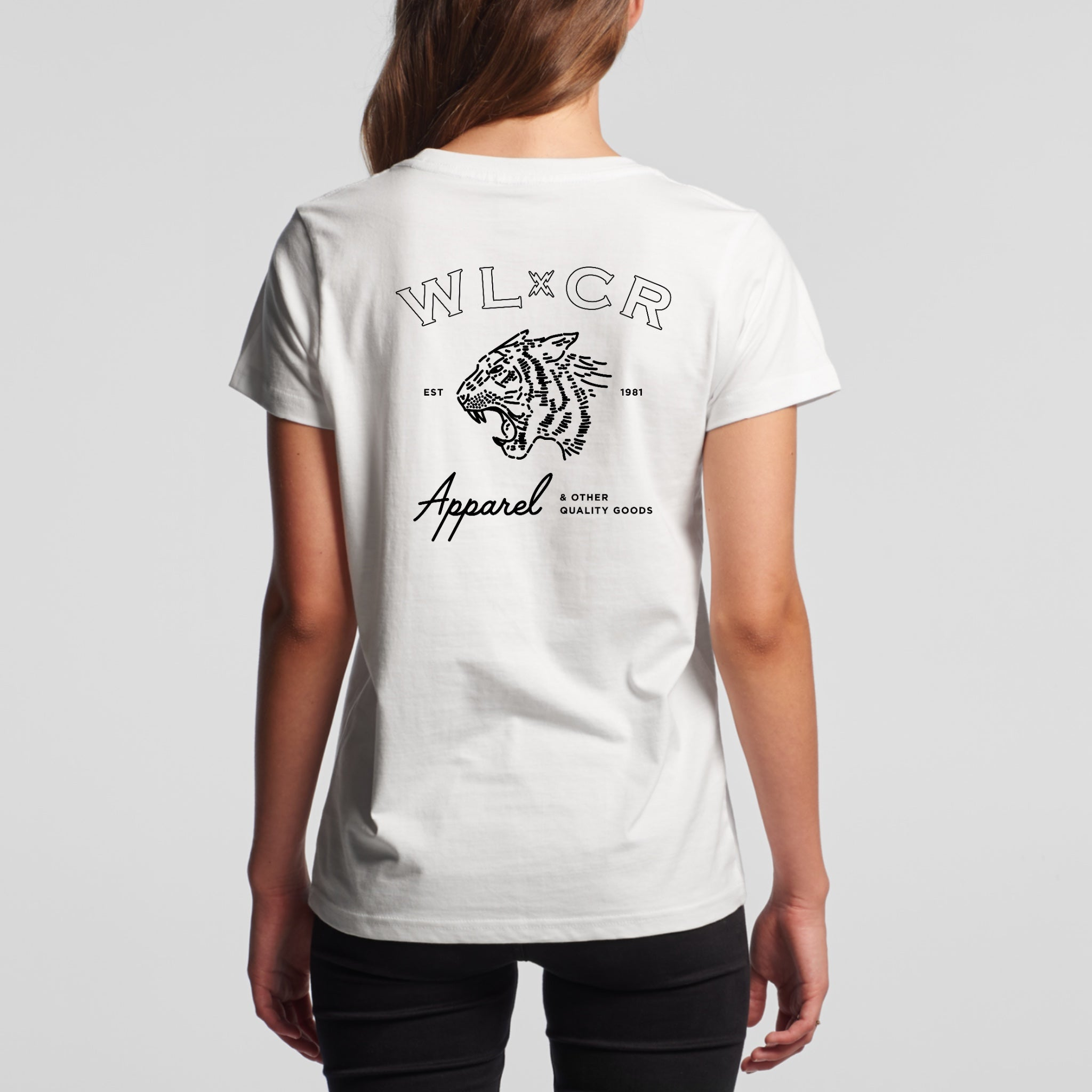 Women's Easy Tiger T-shirt - White