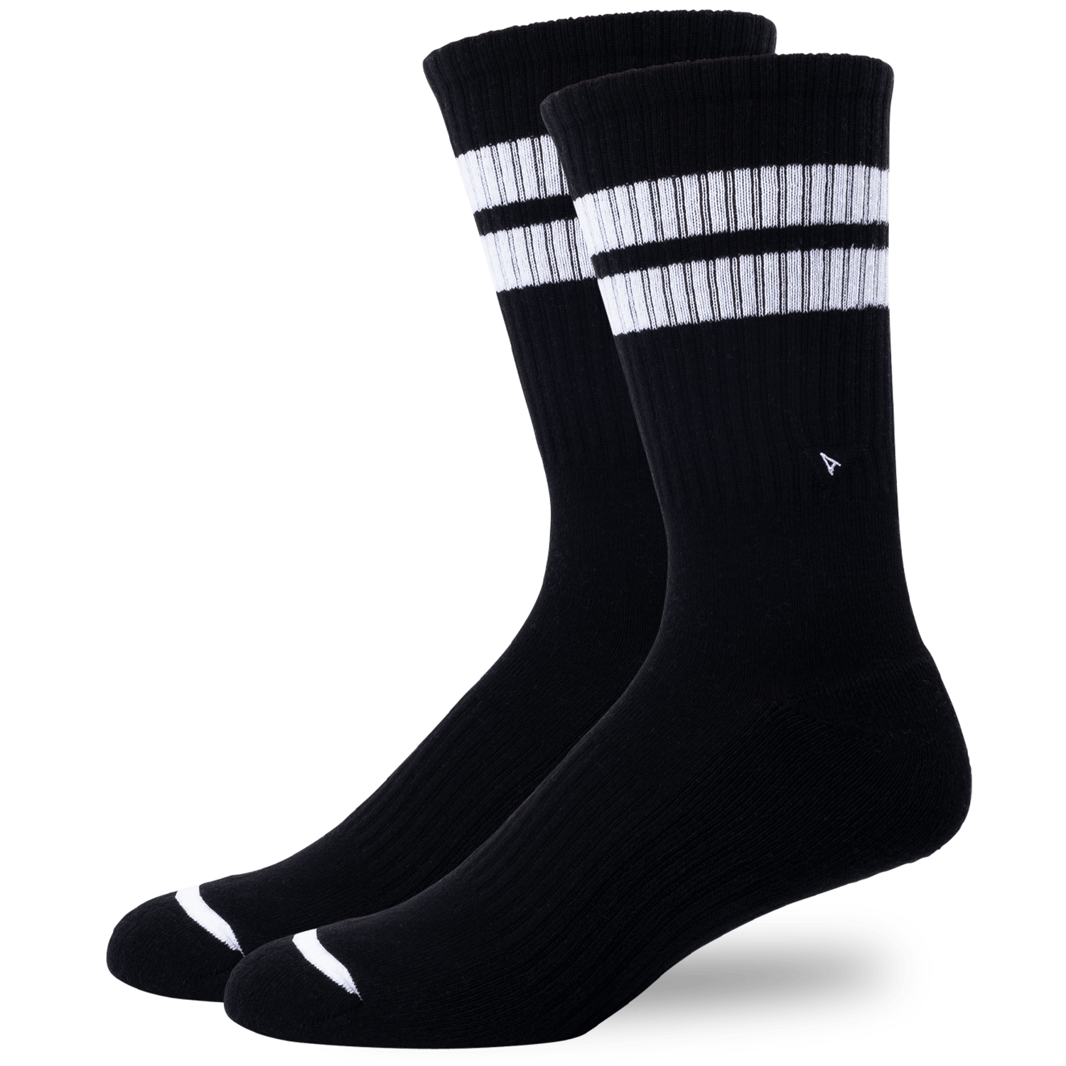 Arvin Goods Crew Sock Long - Black Noir