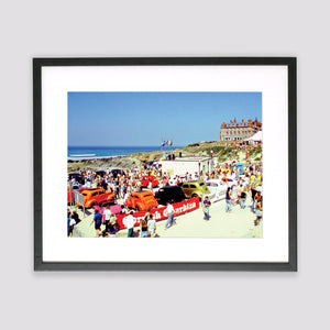 Nineties Boardmasters Framed Print