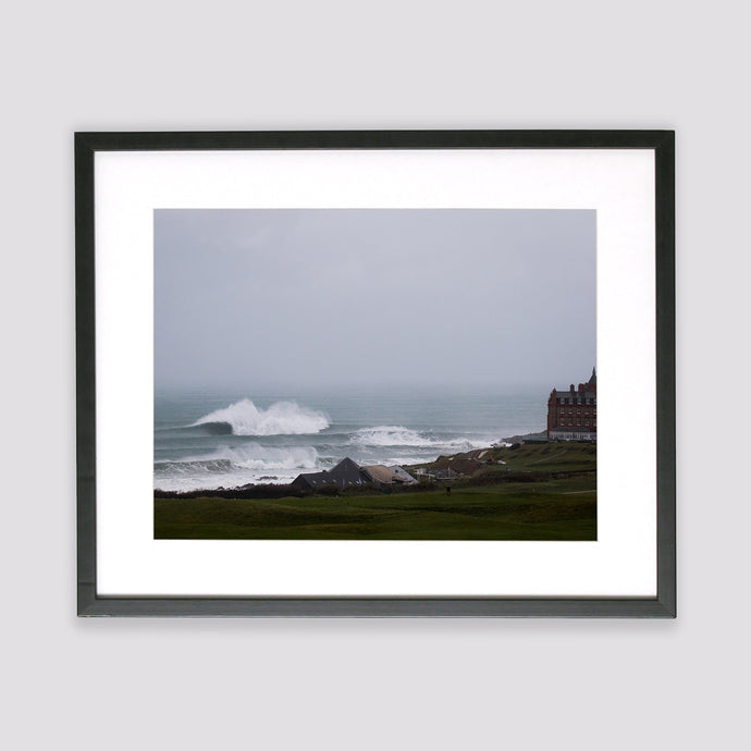 The Cribbar, Newquay Framed Print