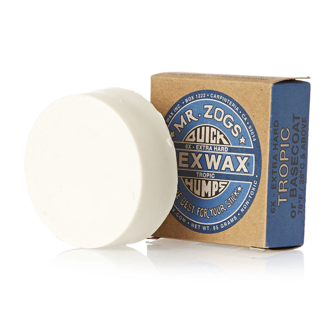 Quick Humps Surf Wax - Basecoat/Tropical