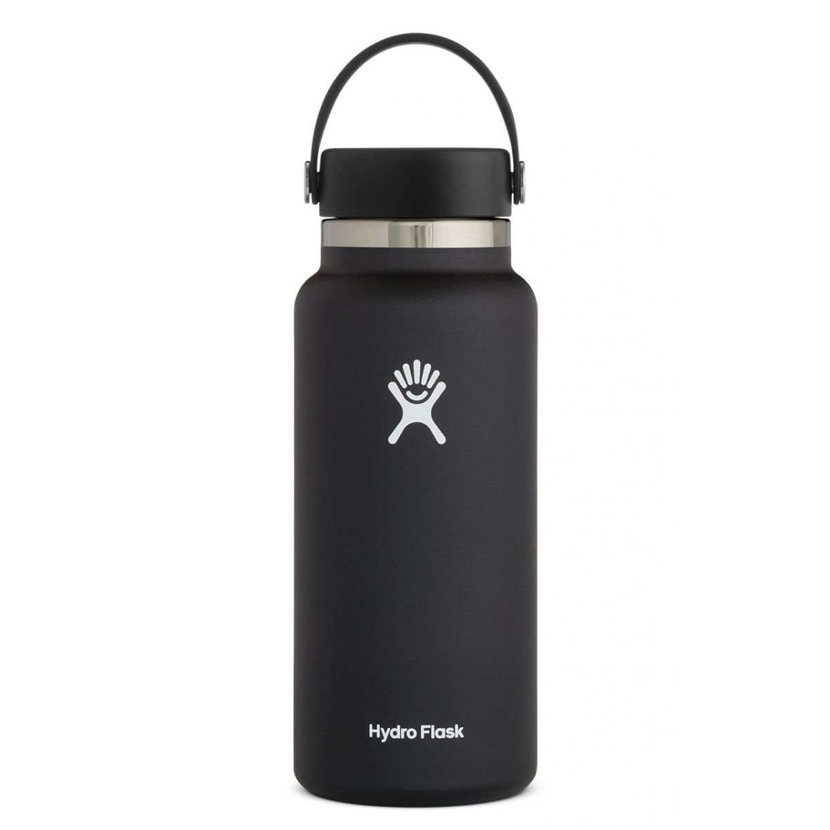 Hydro Flask 32 oz (946 ml) Wide Mouth - Black - Pre Order