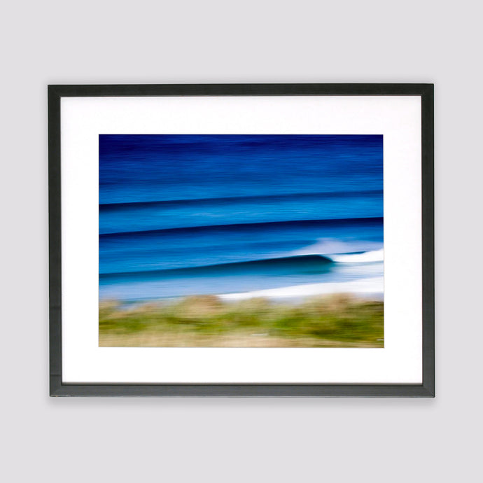 Cornish Summer Lines Framed Print