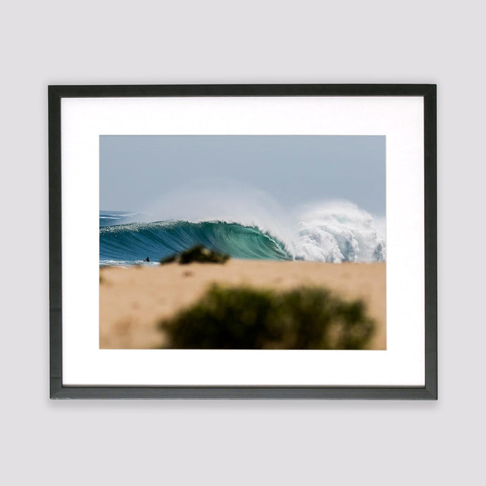 Australian Blue Empty Framed Print