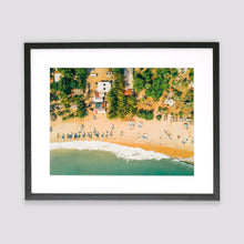 Arugam Bay From Above Framed Print