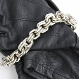 "8"" chain maille bracelet"