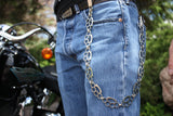 "20"" Brass Knuckle Wallet Chain"