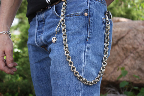 "20"" Square Link Wallet Chain"
