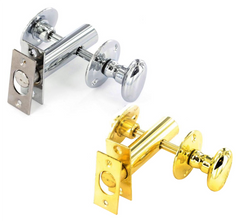 Bathroom Thumbturn Security Door Bolt Privacy Lock & Release 60mm with Emergency Coin Release