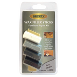 Briwax Wax Filler Sticks Furniture Repair Kit