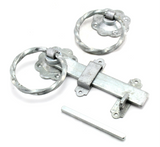 Perry 1137/PP Twisted Ring Handle Gate Latch 6""