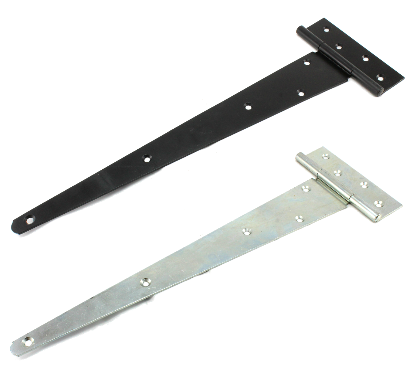 Multi Size Zinc T Hinge for Exterior Door Gate Shed Tee Strap T Type Tool