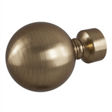 Rothley Adornment Solid Orb Curtain Pole End