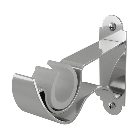 Rothley Adornment Push Fit Curtain Pole Bracket