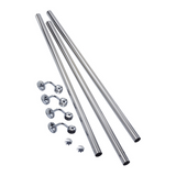 Rothley Stainless Steel Handrail Support Kit 3.6mtr