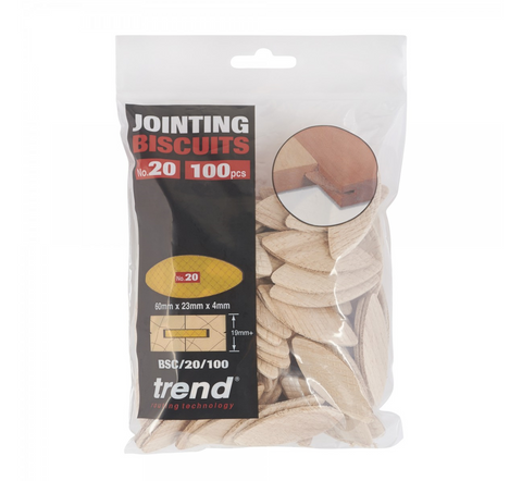 Trend BSC/20/100 No.20 Jointing Biscuits 100 Pack