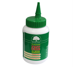 Wudcare Fast Grab 5 Minute PU Wood, Concrete & Metal Bonding Polyurethane Glue Adhesive 500grm