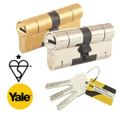 Yale High Security Superior 1 Star Euro Profile Double Cylinder Lock Anti Snap Bump uPVC Door Barrel