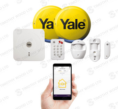 Yale SR-330 Smart Home Wireless Alarm & View Property Security System Kit