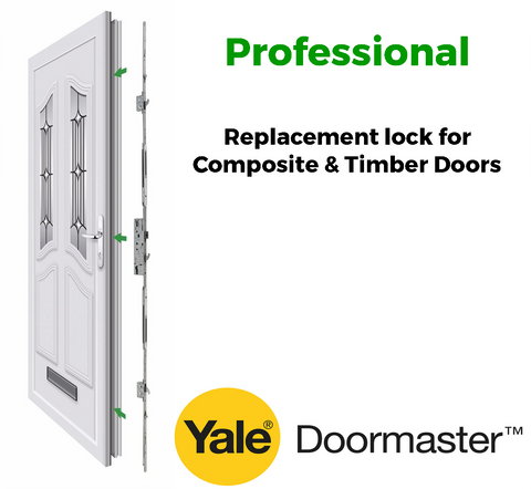 Yale Doormaster Professional Replacement Lock for Timber Composite Doors