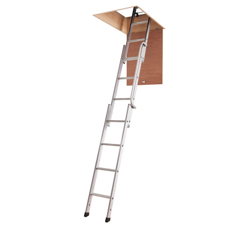 Youngman 313340 Easiway 3-Section Aluminium Loft Ladder