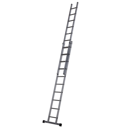 Youngman Trade 200 2 Section Aluminium Extension Ladder