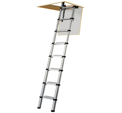 Youngman Telescopic Aluminium Loft Attic Hatch Access Ladder