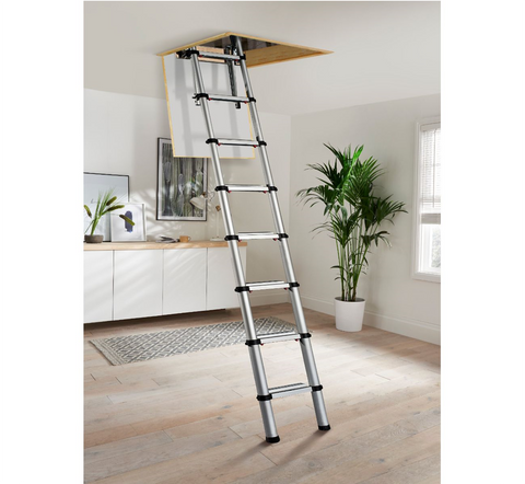 Youngman Aluminium Telescopic Loft Ladder