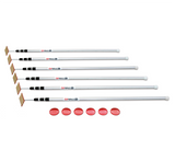 ZipWall SLP6 12' Spring-Loaded Poles 6 Pack