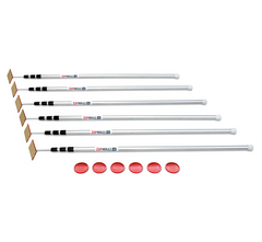 Zipwall SLP6 12' Spring Loaded Poles 6 Pack for Zip Wall Dust Barrier System