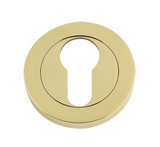 Zoo DAT Premium Escutcheon Key Hole Door Cover - Polished Brass
