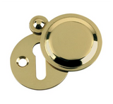 Zoo FB11 Fulton & Bray Victorian Covered Escutcheon Keyhole Cover 32mm