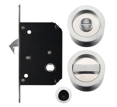 Zoo FB81 Fulton & Bray Sliding Pocket Door Lock Set