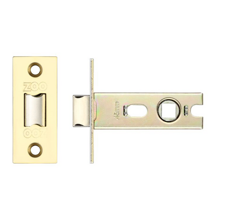 Zoo PRTL Bolt Through Mortice Tubular Latch