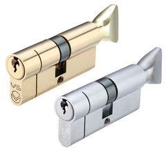Zoo Hardware V5EP80CT Vier 5-Pin Euro Profile  Anti Pick Drill Cylinder & Turn Barrel Lock 80mm