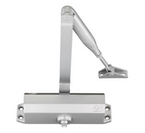 Zoo VDC003 Vier Fixed Power Overhead Door Closer Size 3 - Silver