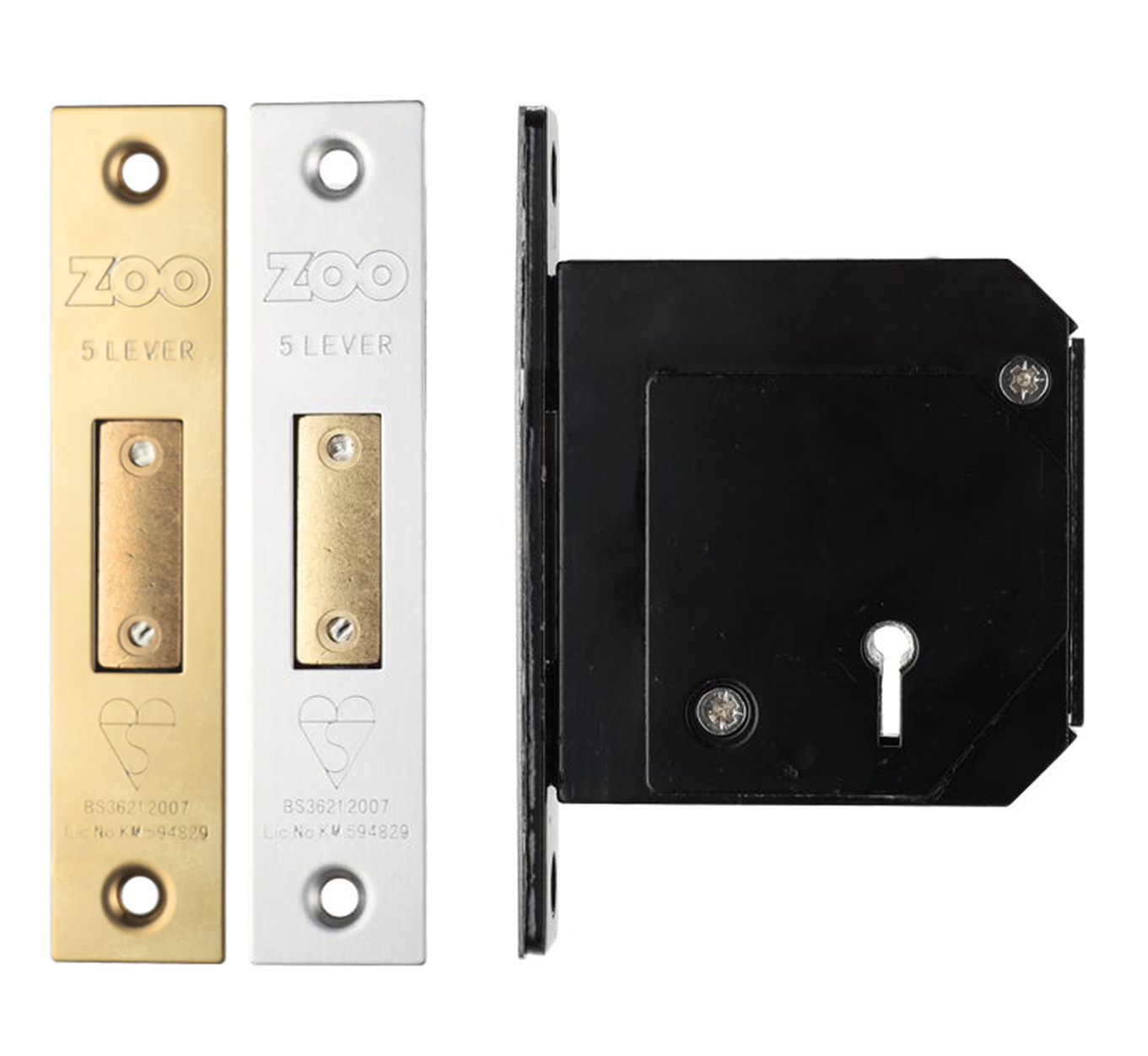 "1838 40mm 1.5/"" Inch Zinc Plated Light Butt Hinge No"