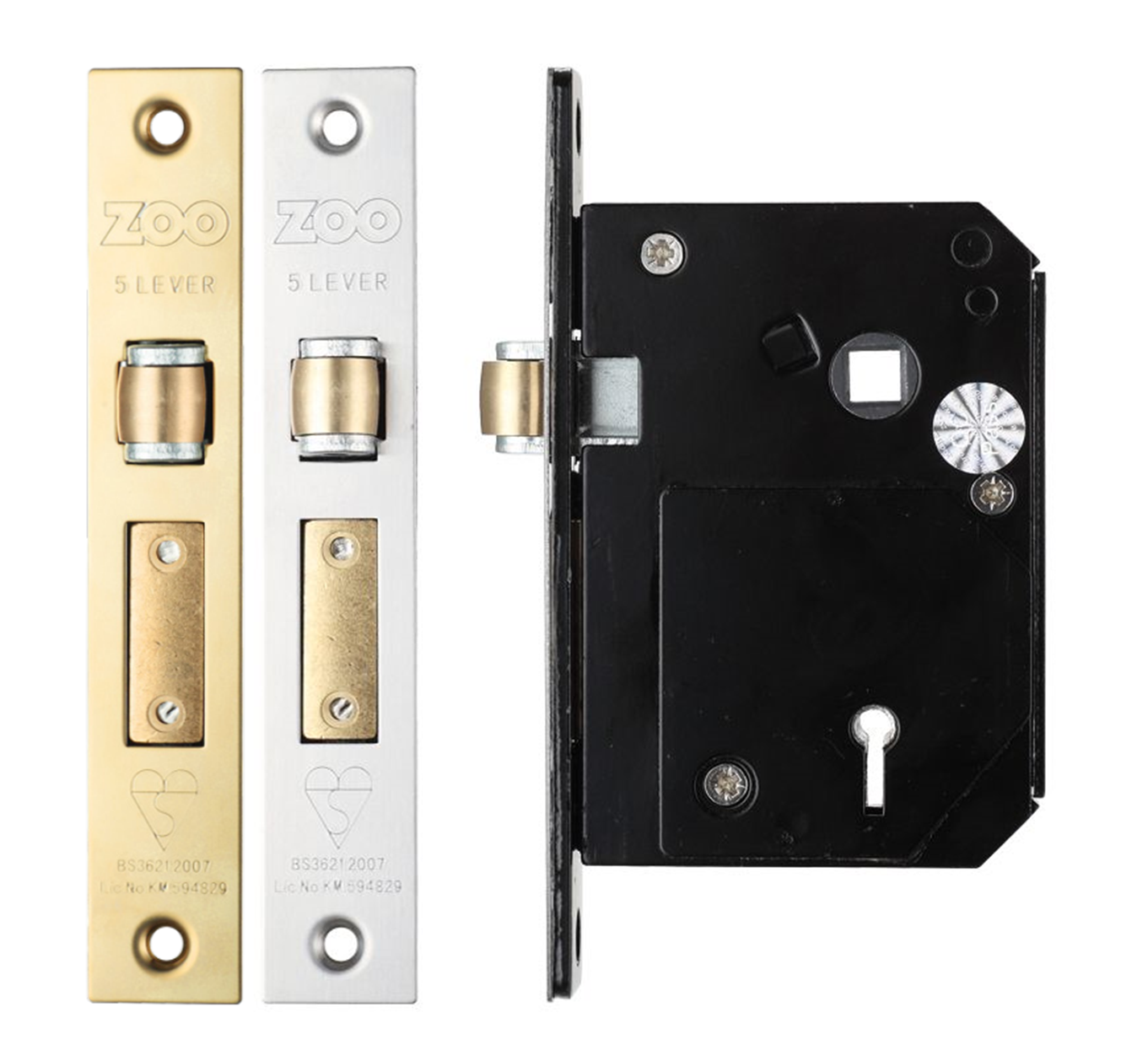 "2 x 4/"" 100mm BZP MINI LIGHTWEIGHT PADBOLT PADLOCK DOOR TOWER BOLT GATE SHED f"