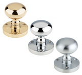 Zoo ZCB35 Mushroom Mortice Door Knob Set